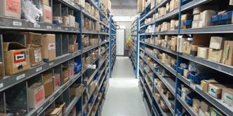 Santpoort Technische Handelmaatshappij magazijn haarlem